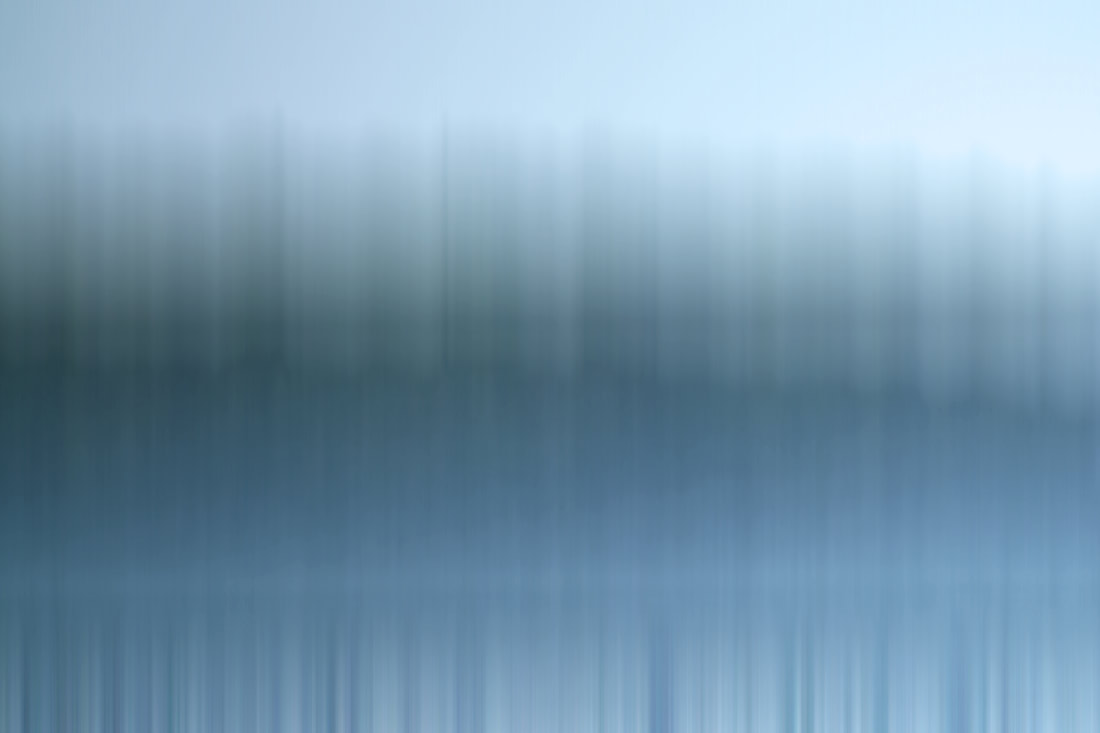 Photographic abstract of a morning on Lake Superior in Michigan.