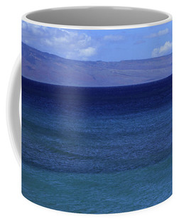 The many shades of the deep blue sea captured on a mug.