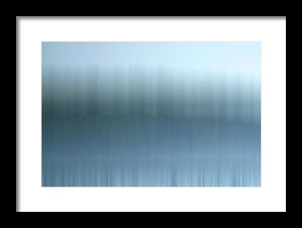 Photograph of Lake Superior in Michigan. abstract, porkies,