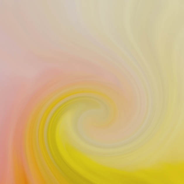 Photograph of a flower becomes a wave of pastel color.